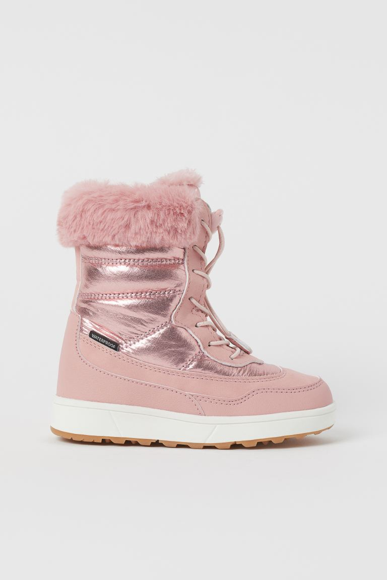 Waterproof Winter Boots - Light pink - Kids | H&M US