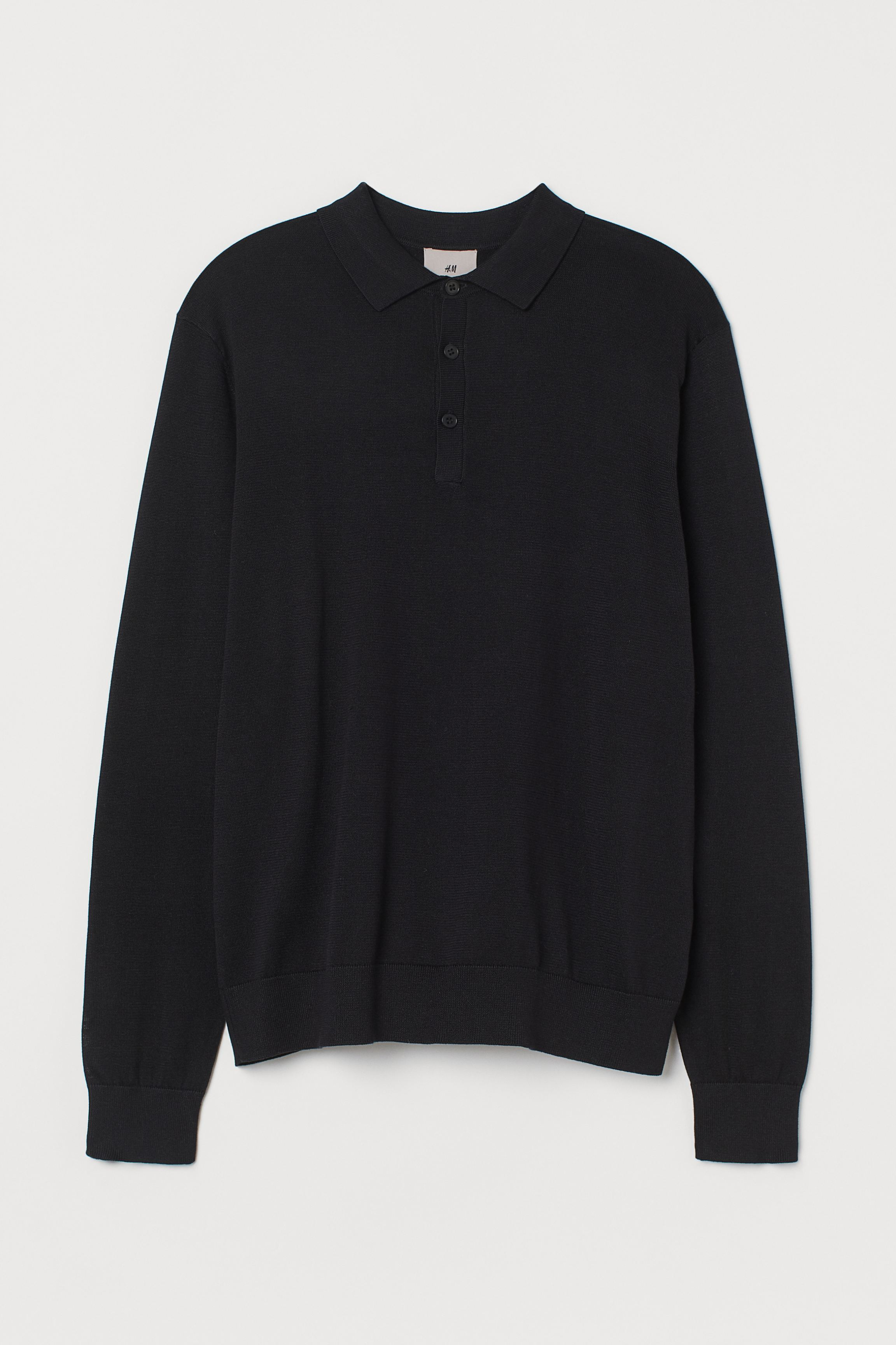 Premium Cotton Polo Sweater