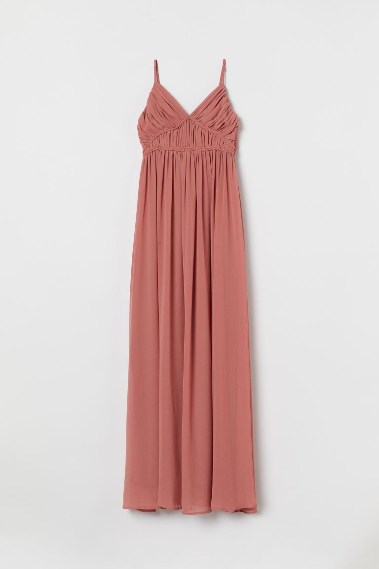 Langes Kleid - Rostrosa - Ladies | H&M AT