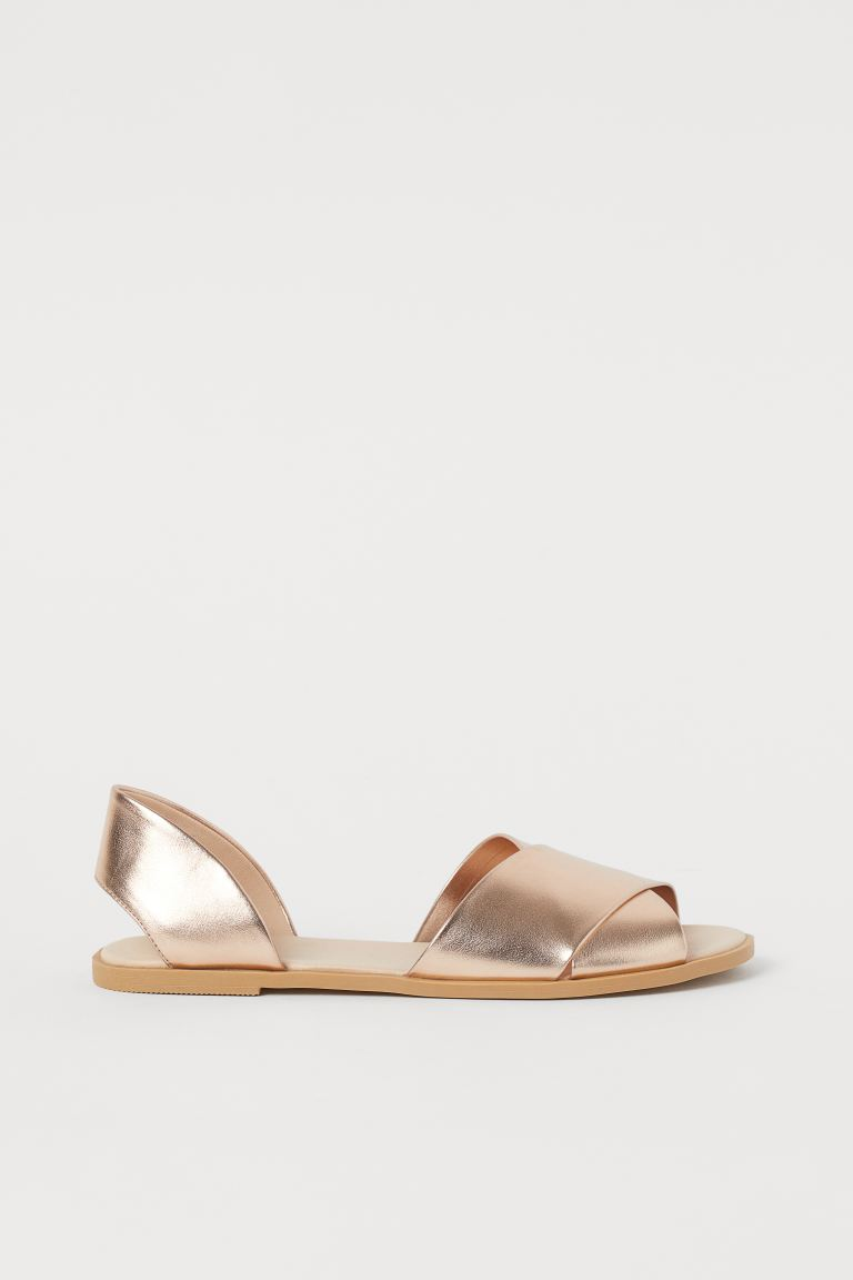 Sandals - Rose gold-coloured - Ladies | H&M IN