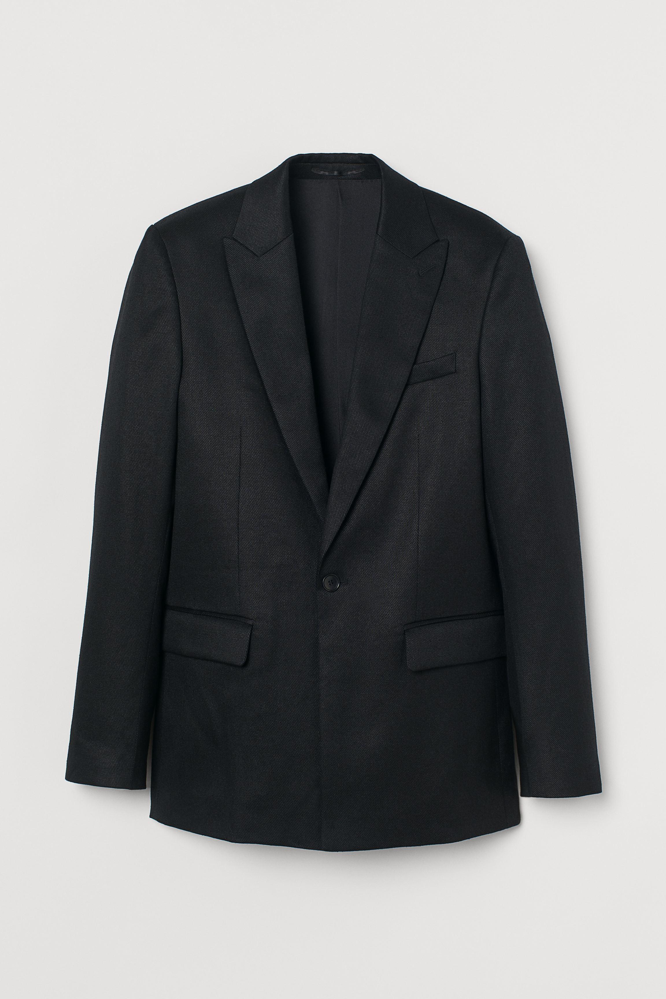 Slim Fit Twill Jacket
