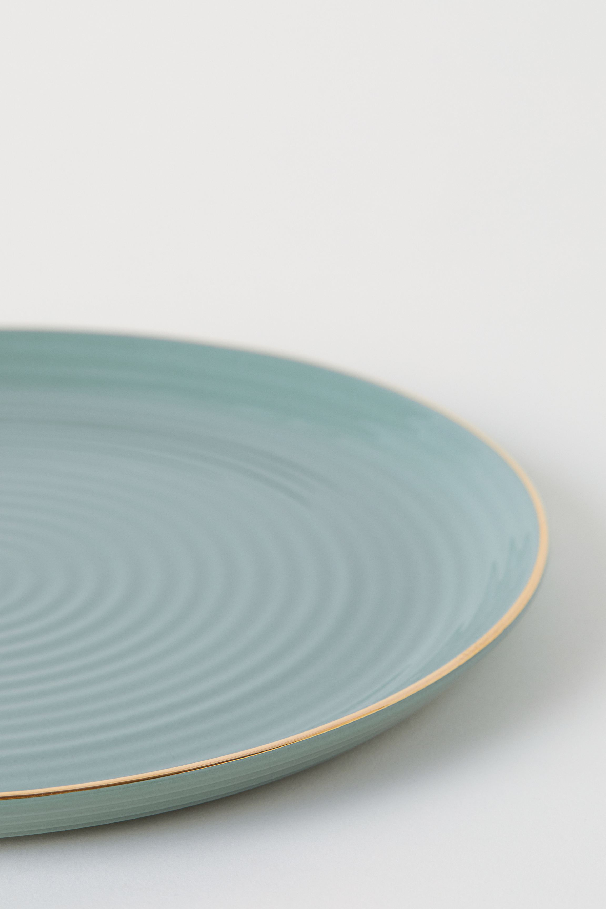 Textured Porcelain Dish