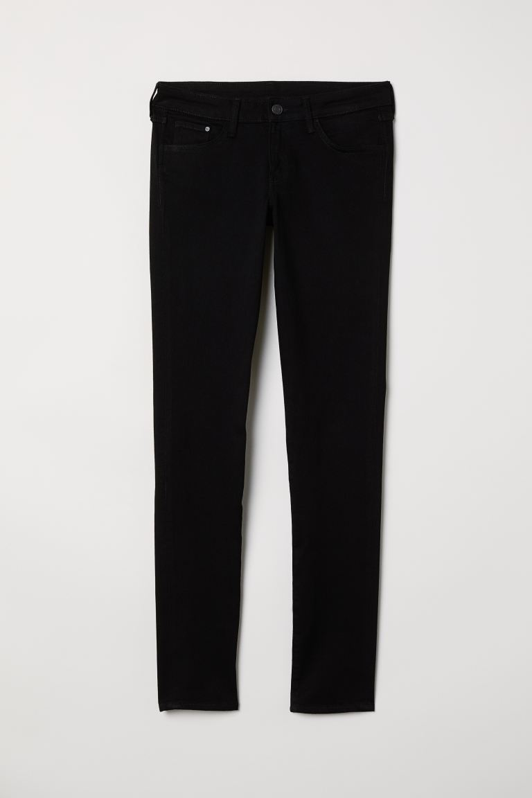 Super Skinny Low Jeans - Schwarzer denim - Ladies | H&M AT