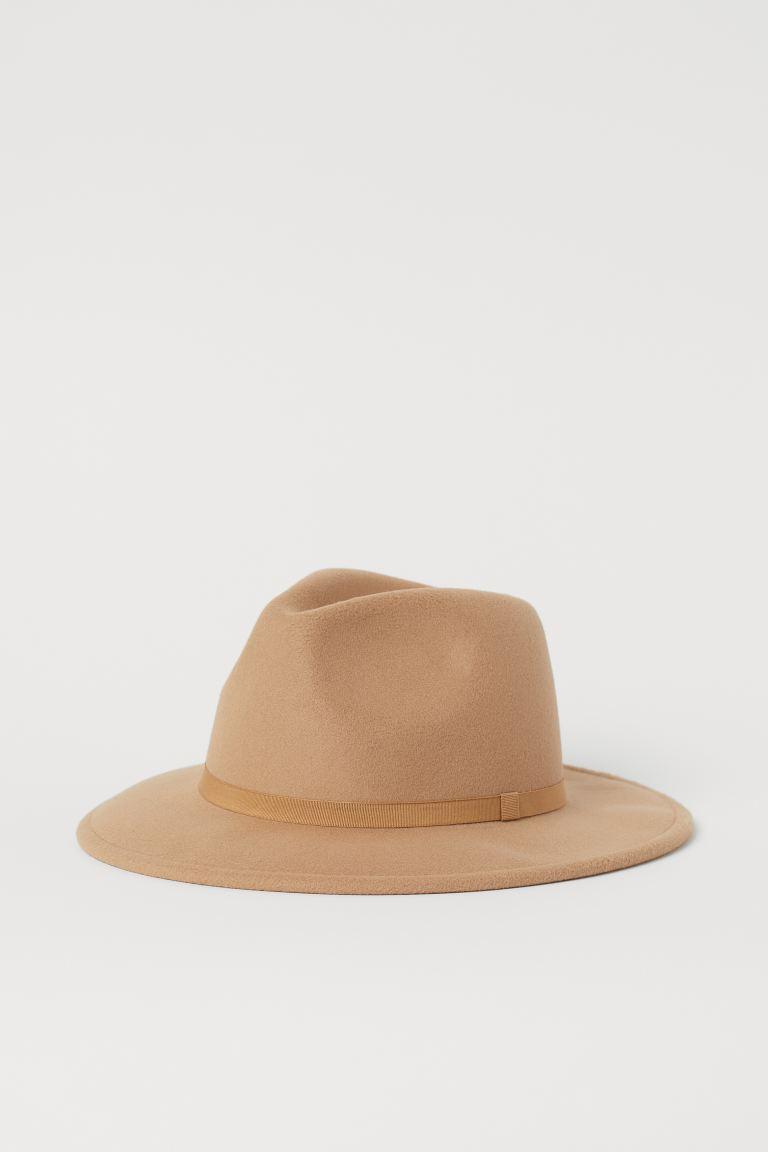 Keçeli şapka Siyah Kadin H M Tr