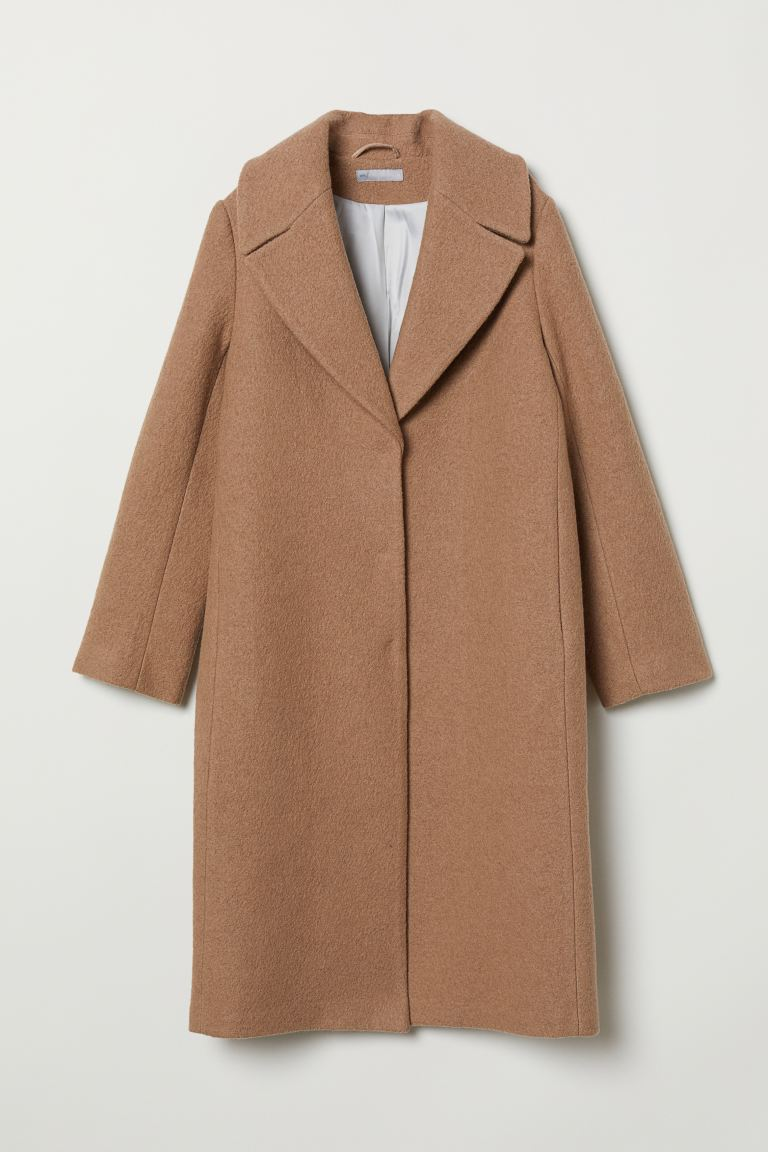 Cappotto in lana - Beige - DONNA | H&M IT
