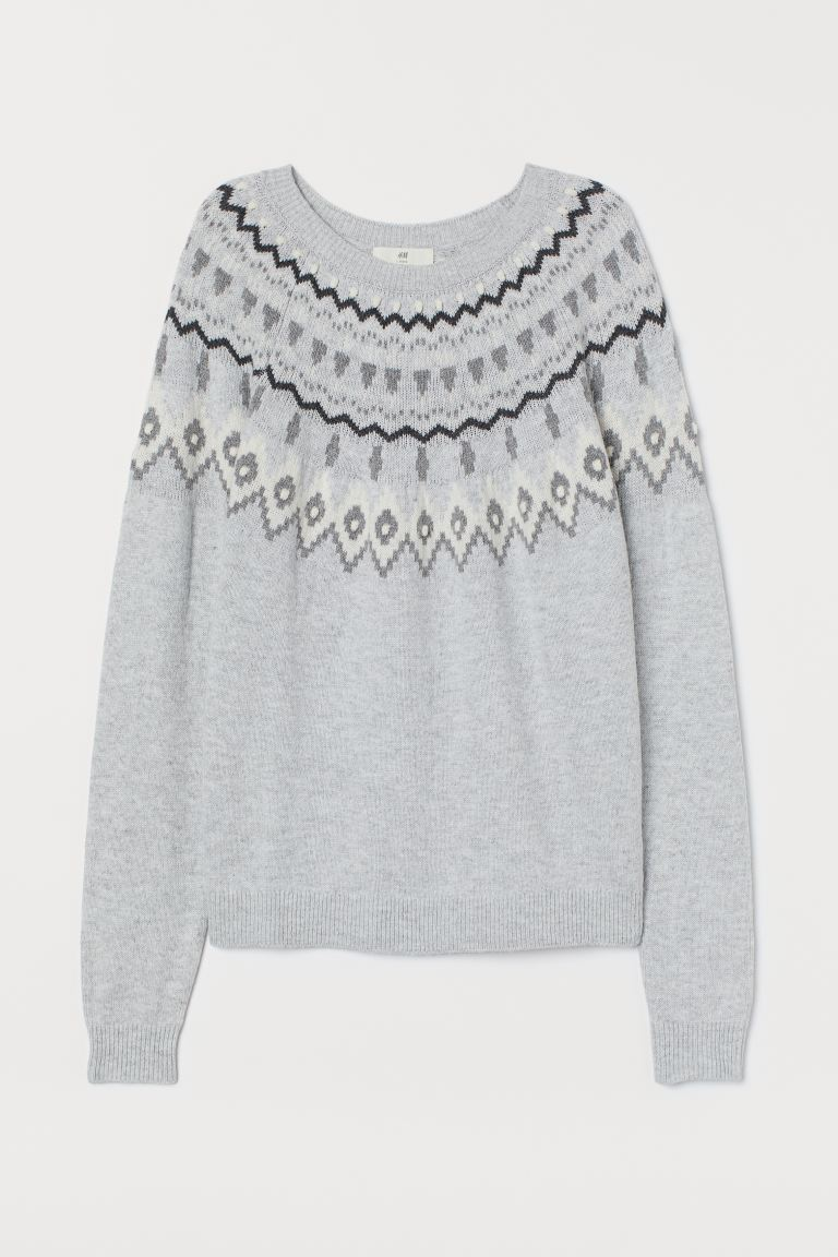 Alpaca-blend Sweater - Light gray - Ladies | H&M US