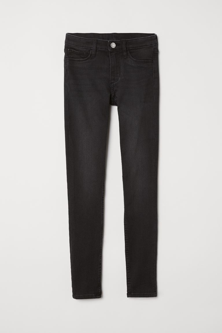 Superstretch Skinny Fit Jeans - Grigio scuro/nero - BAMBINO | H&M IT