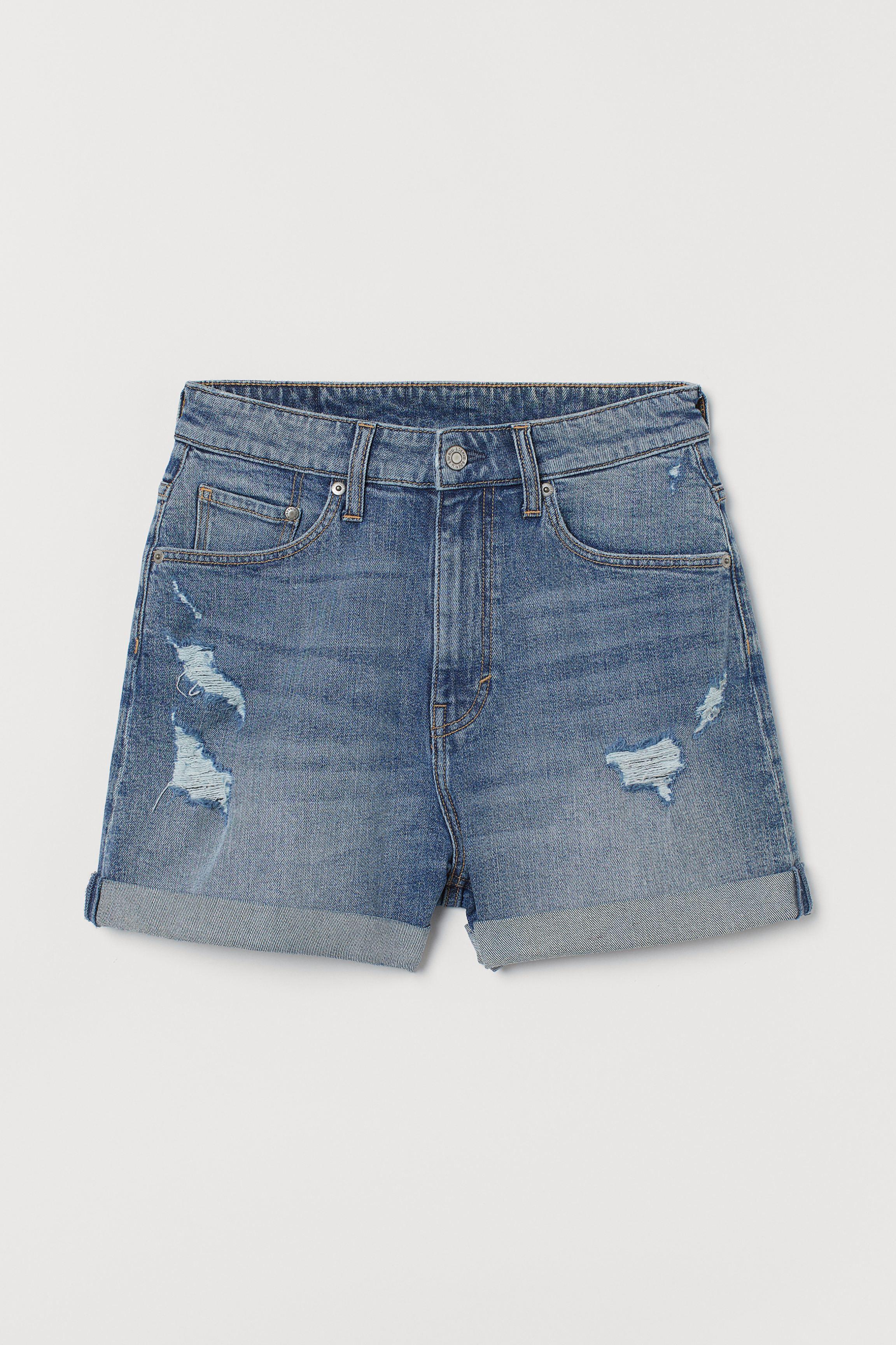 Mom Ultra High Denim Shorts