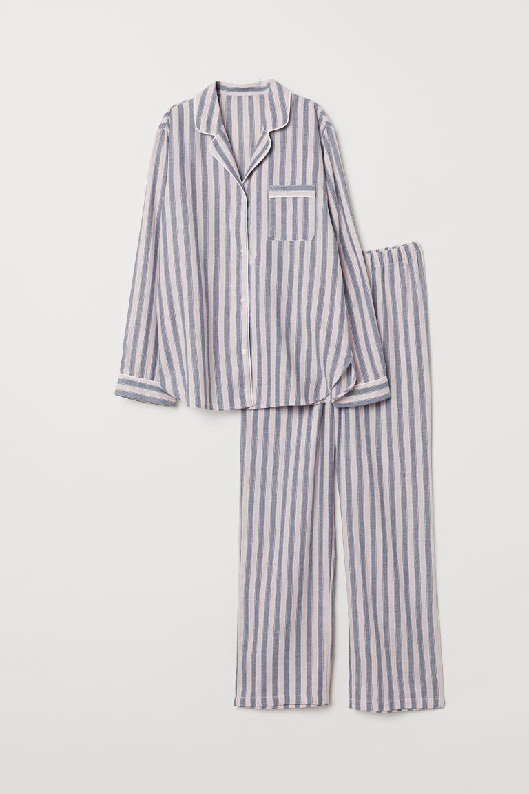 pyjamas skjorta dam
