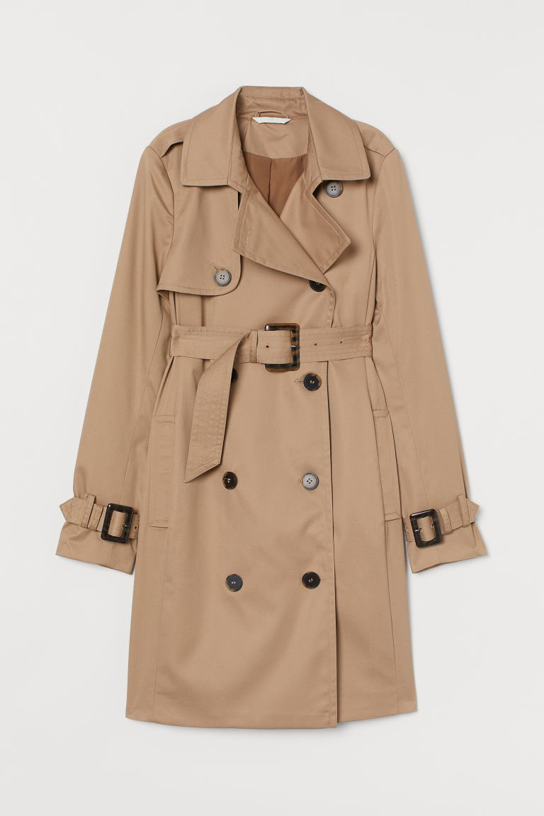 MAMA Trench-coat - Beige - FEMME | H&M FR