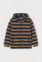 Navy blue/beige striped