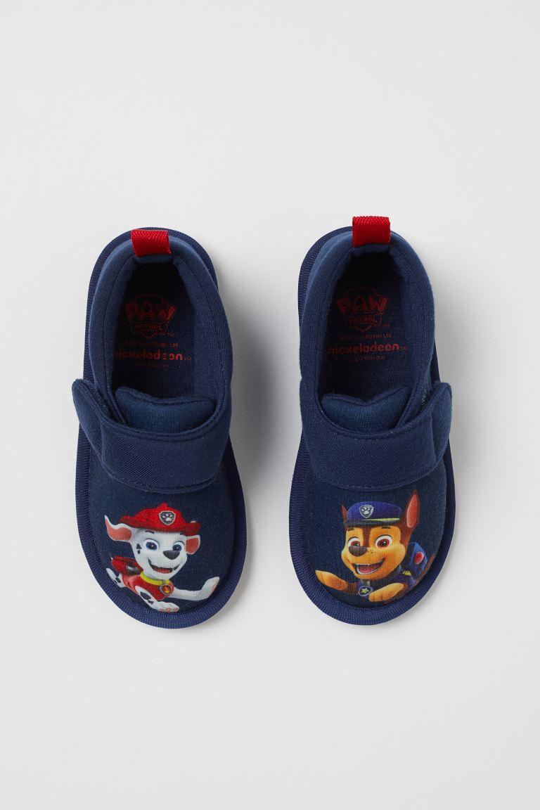 Jersey indoor shoes