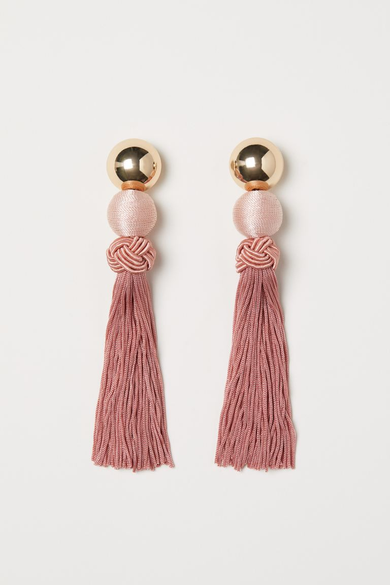 Long Earrings - Apricot - Ladies | H&M US