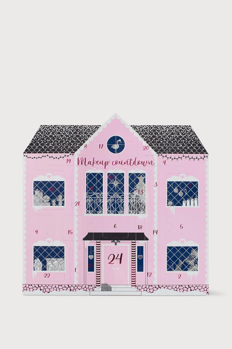 Calendrier de l'Avent make up   Rose   FEMME | H&M FR