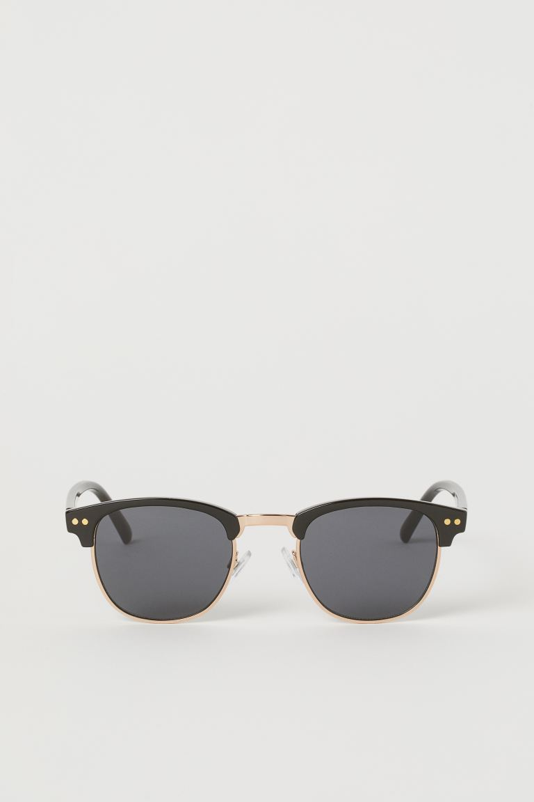 Sunglasses - Black/Gold-coloured - Men | H&M
