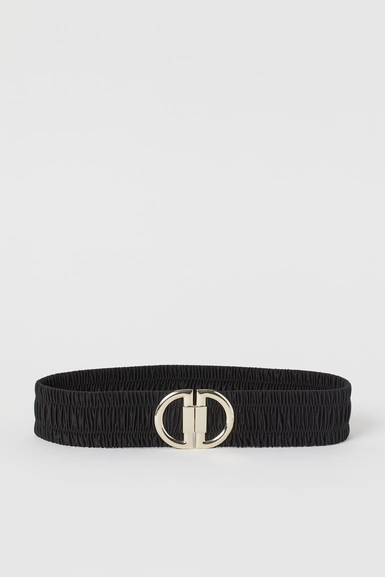 Elastic waist belt - Black - Ladies | H&M GB