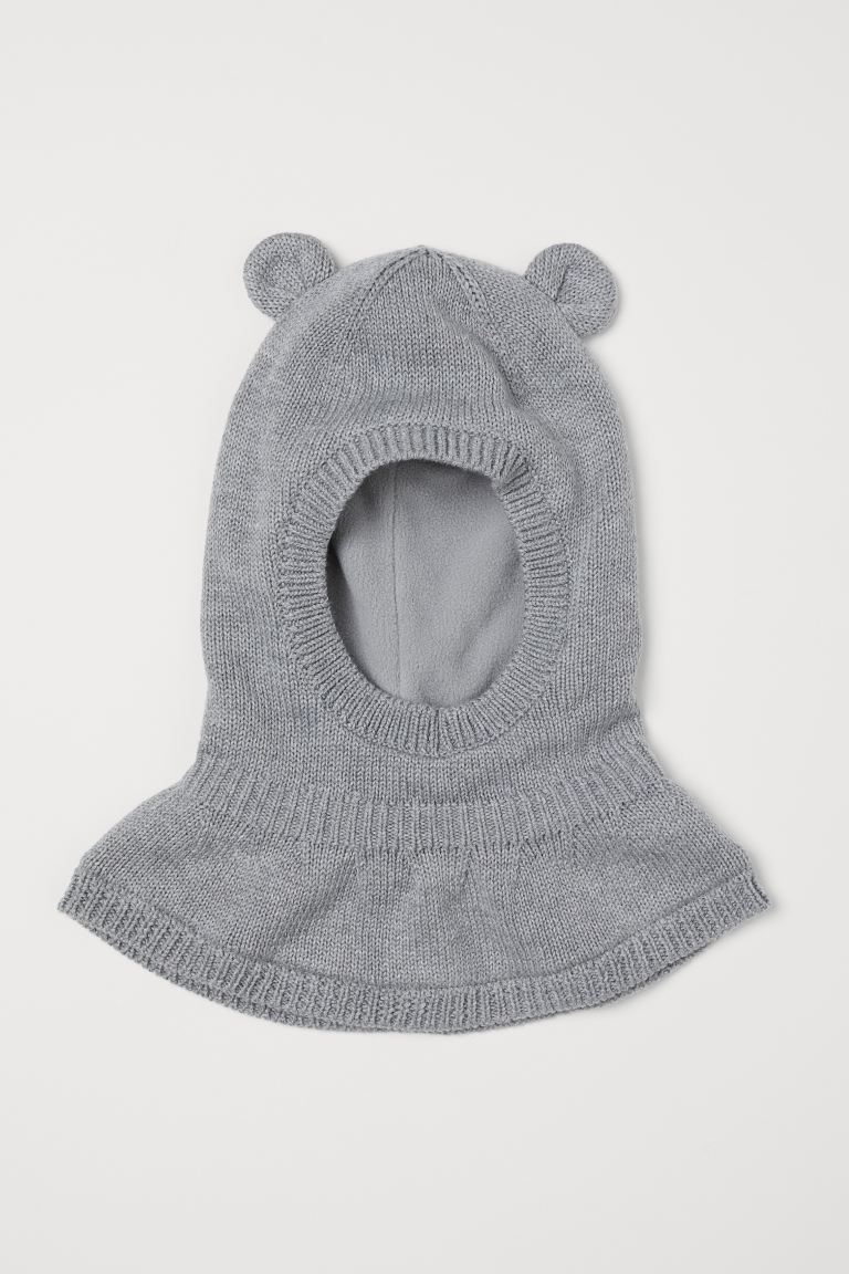 Fleece-lined balaclava