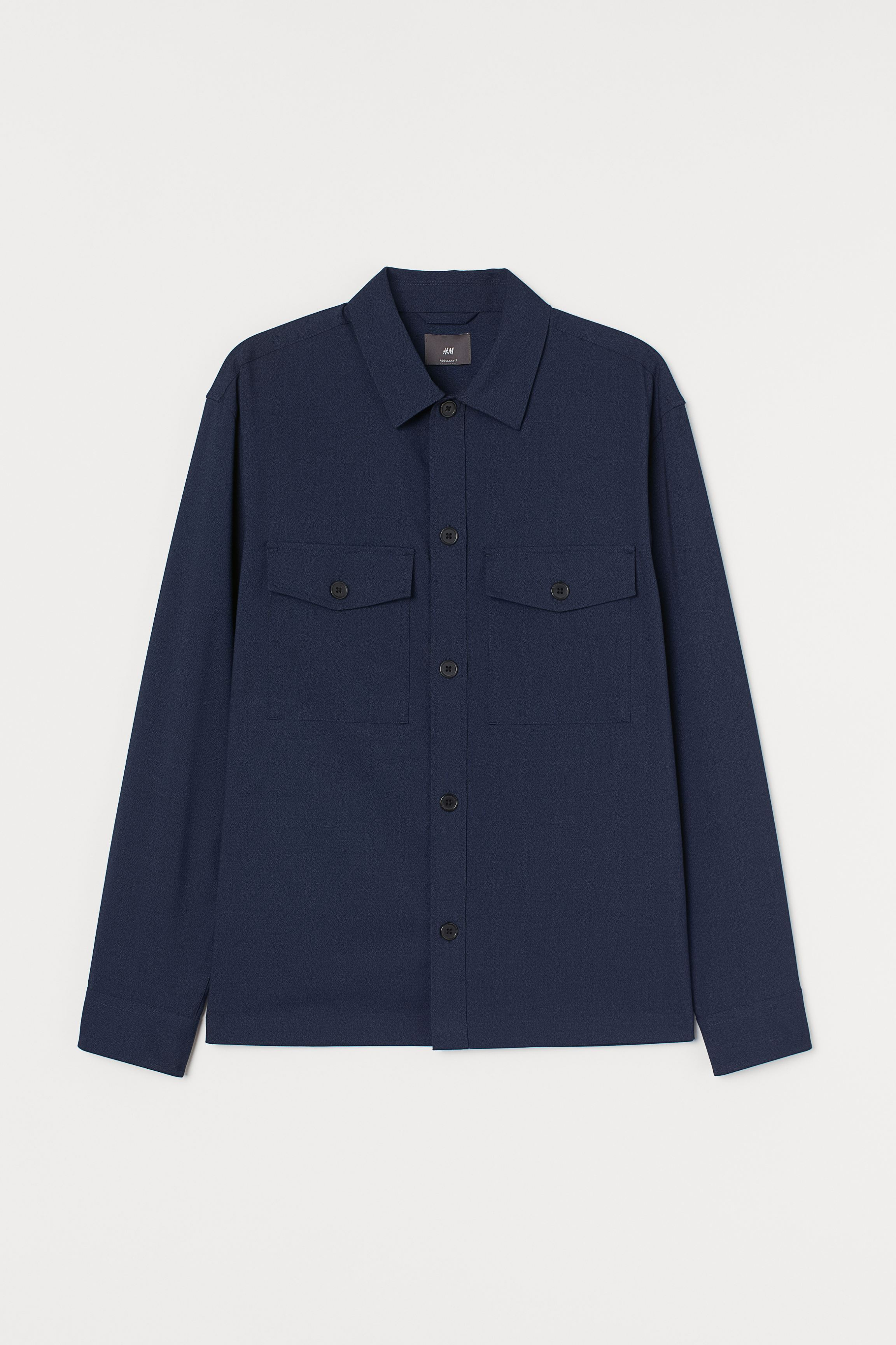 Regular Fit Shirt Jacket