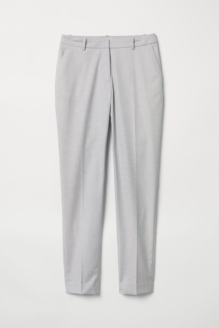 Suit Pants - Light gray - Ladies | H&M US