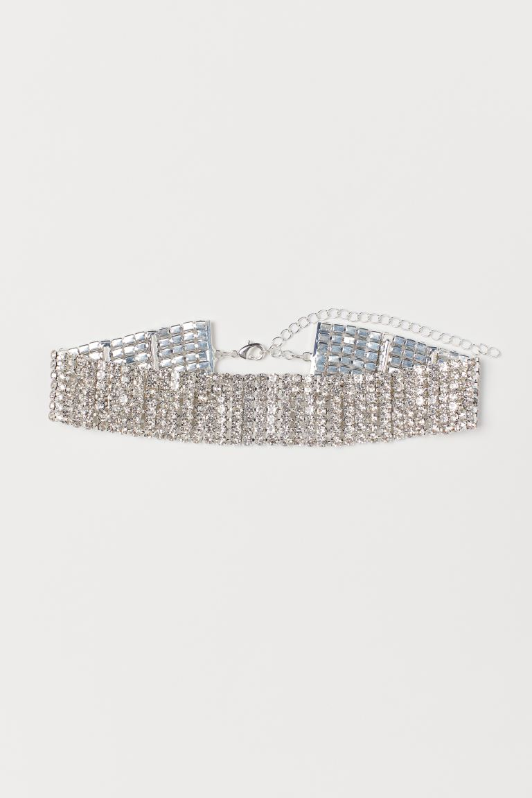halsband med strass