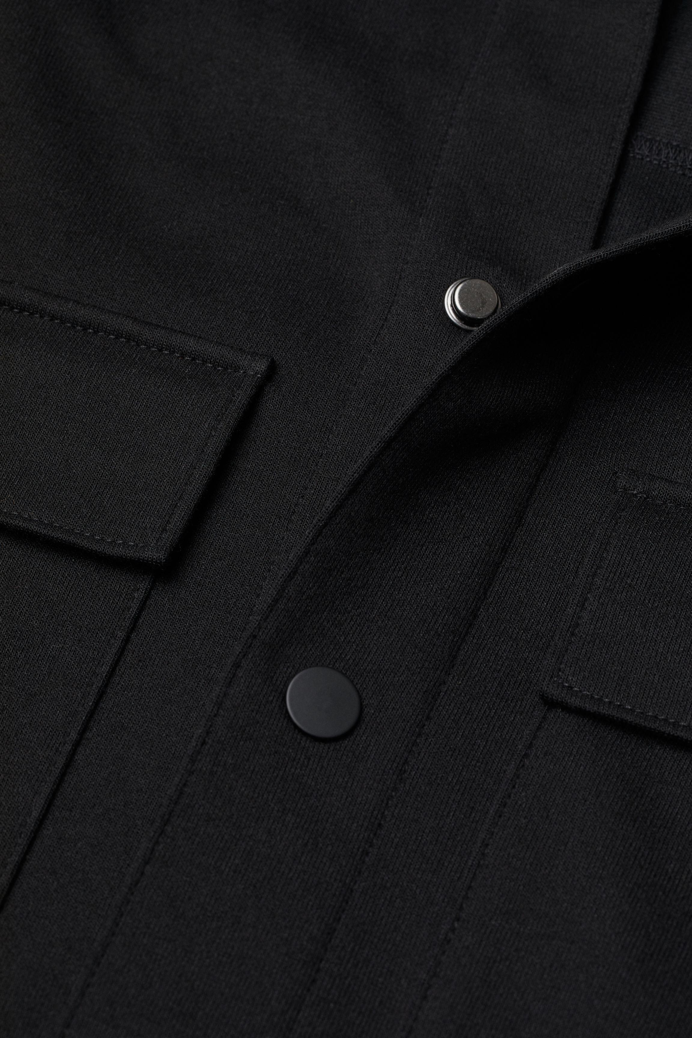Jersey Shirt Jacket