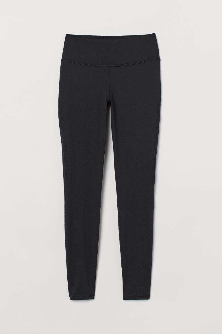 Sports Leggings Shaping Waist - Black - Ladies | H&M CA