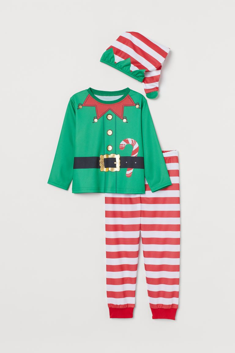 Christmas elf costume - Green - Kids | H&M