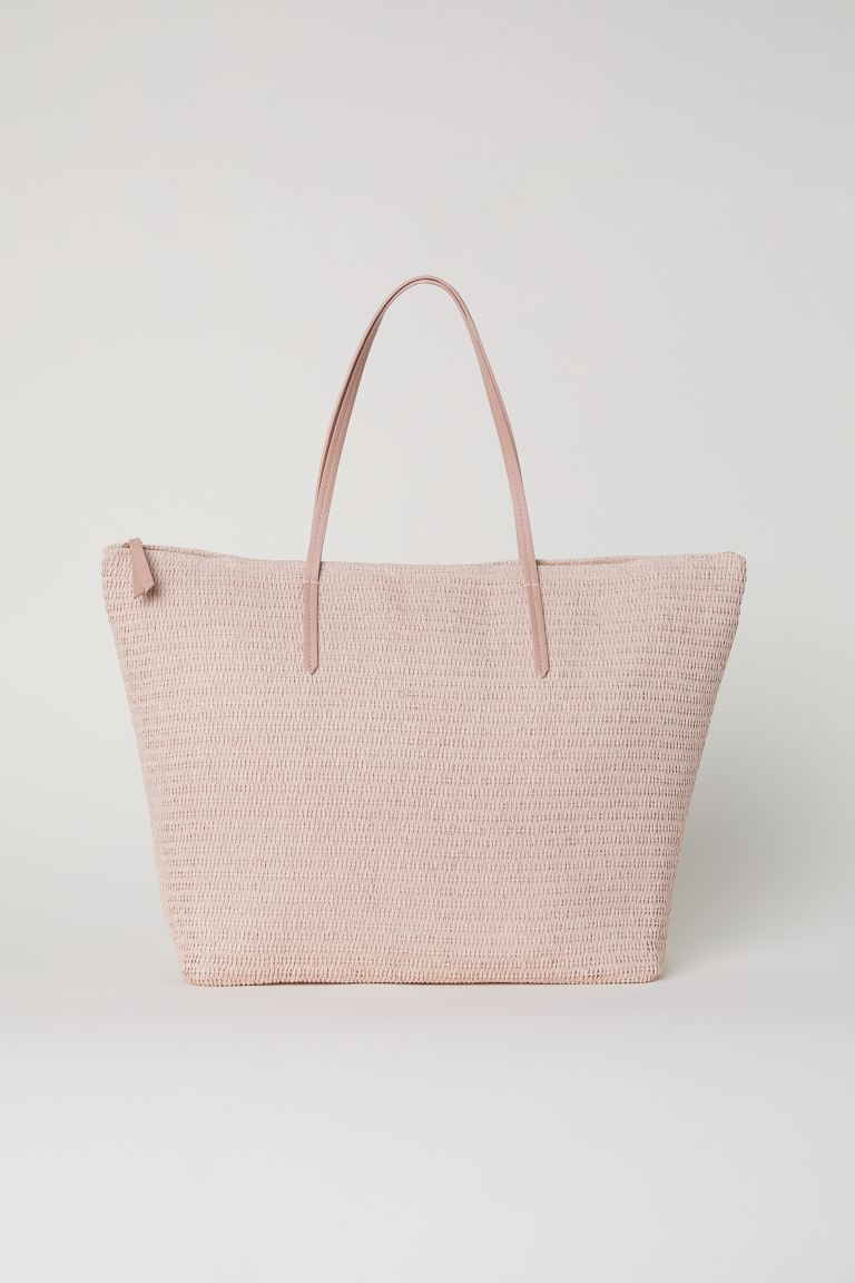 Strohtasche - Puderrosa - Ladies | H&M AT