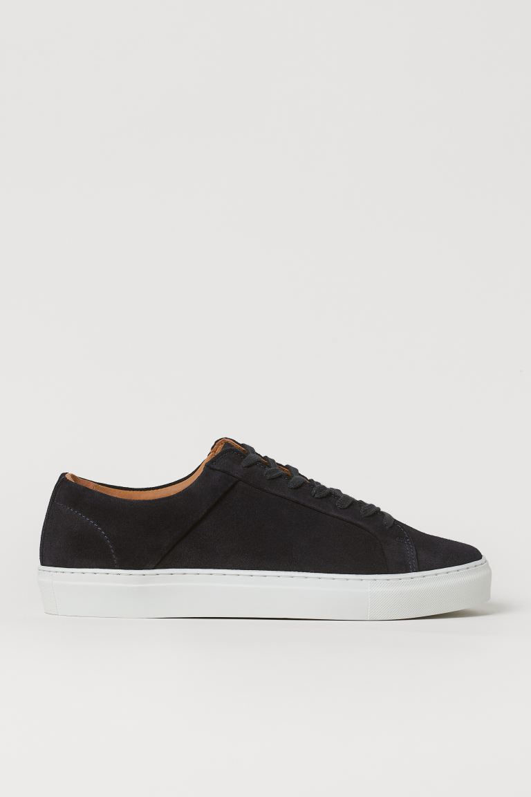 Sneakers - Dark blue/suede - Men | H&M US