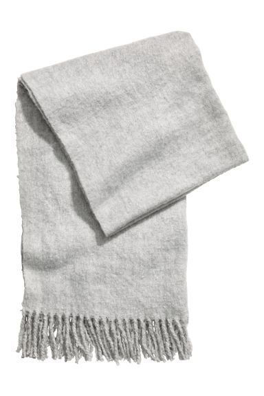 Large scarf - Light grey - Ladies | H&M GB