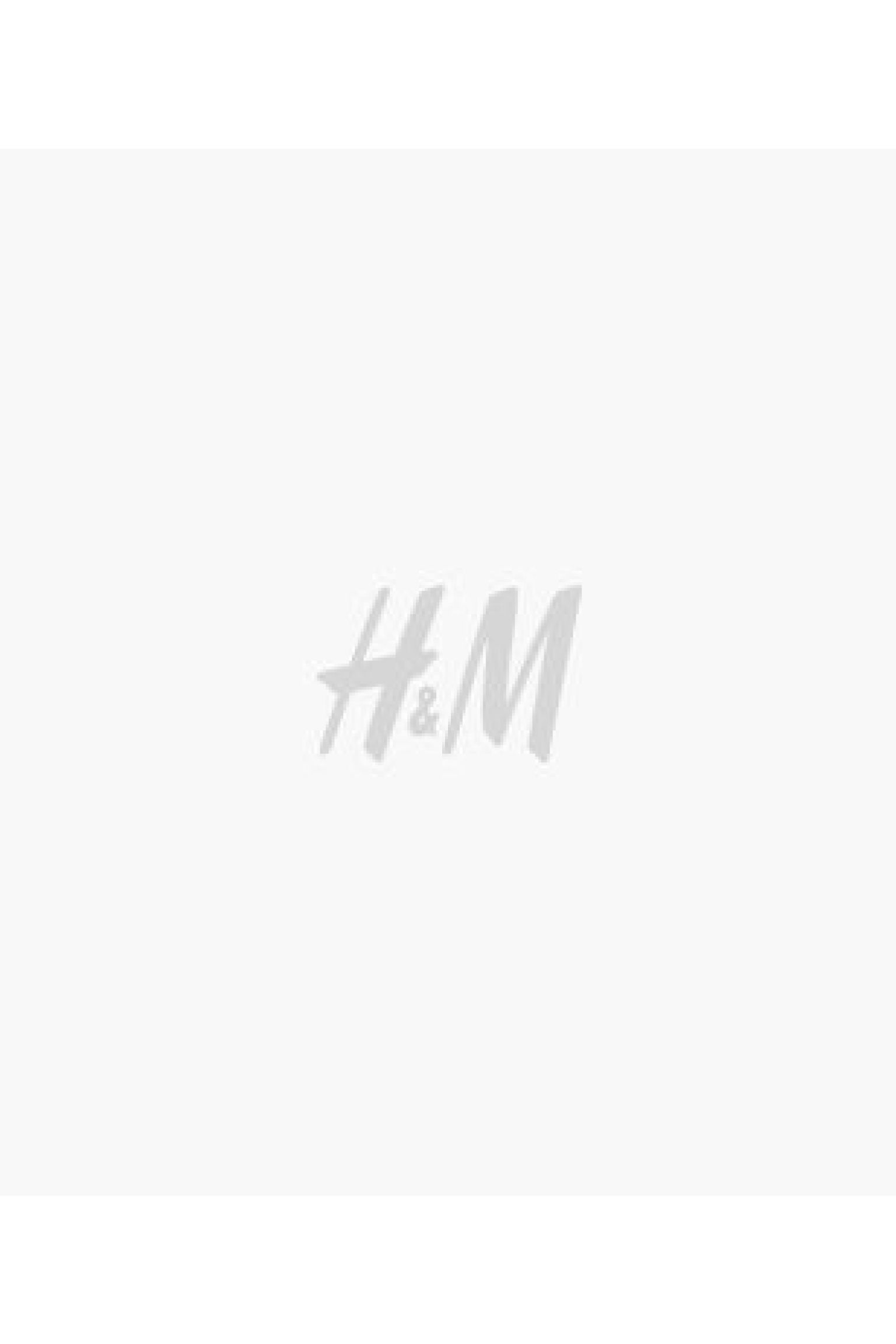 Sleeveless jacket and Tailored Bermuda shorts in white h&m
