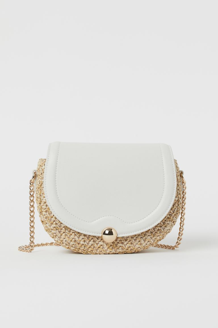 Shoulder Bag - Beige/straw - Ladies | H&M US