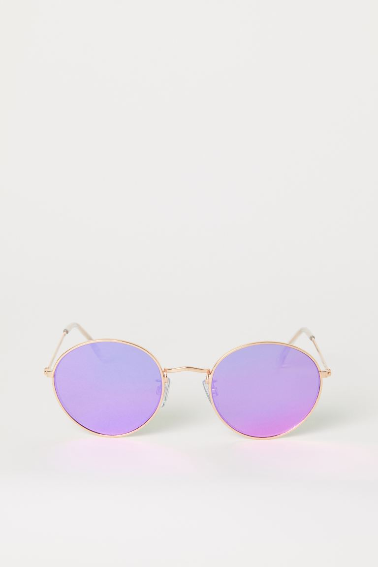 Sunglasses - Dark pink - Ladies | H&M GB
