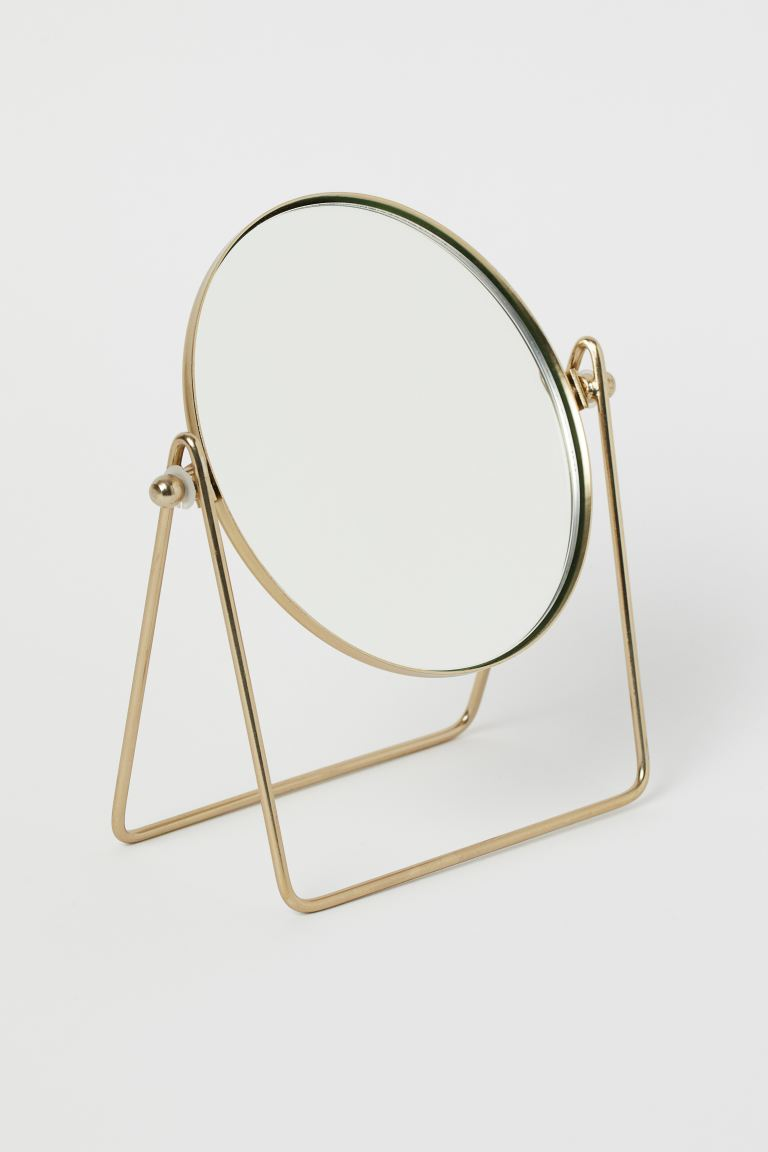 Metal Table Mirror - Gold-colored - Home All | H&M US