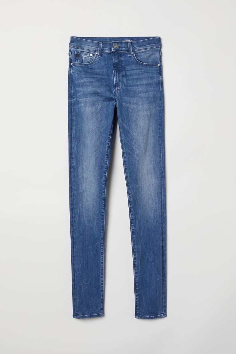 Shaping Skinny High Jeans - Azul - MUJER | H&M ES
