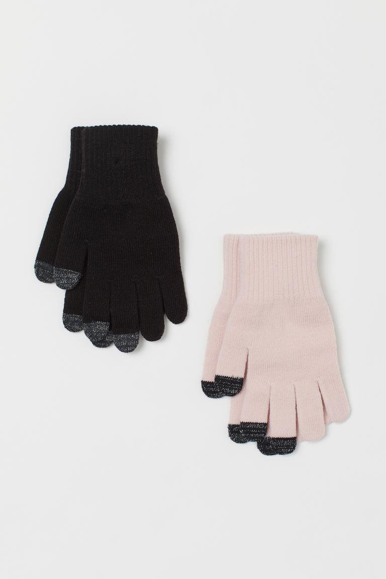 2-pack touchscreen gloves
