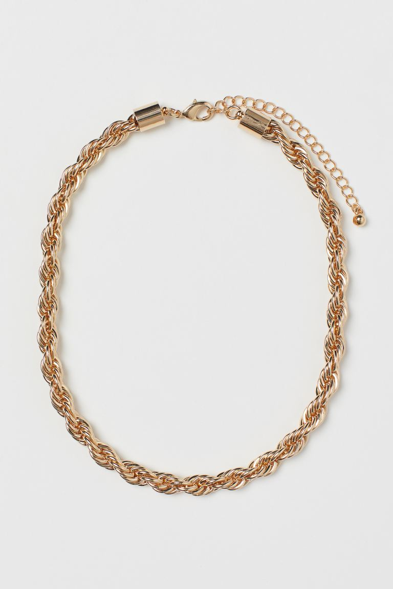 Short necklace - Gold-coloured - Ladies | H&M