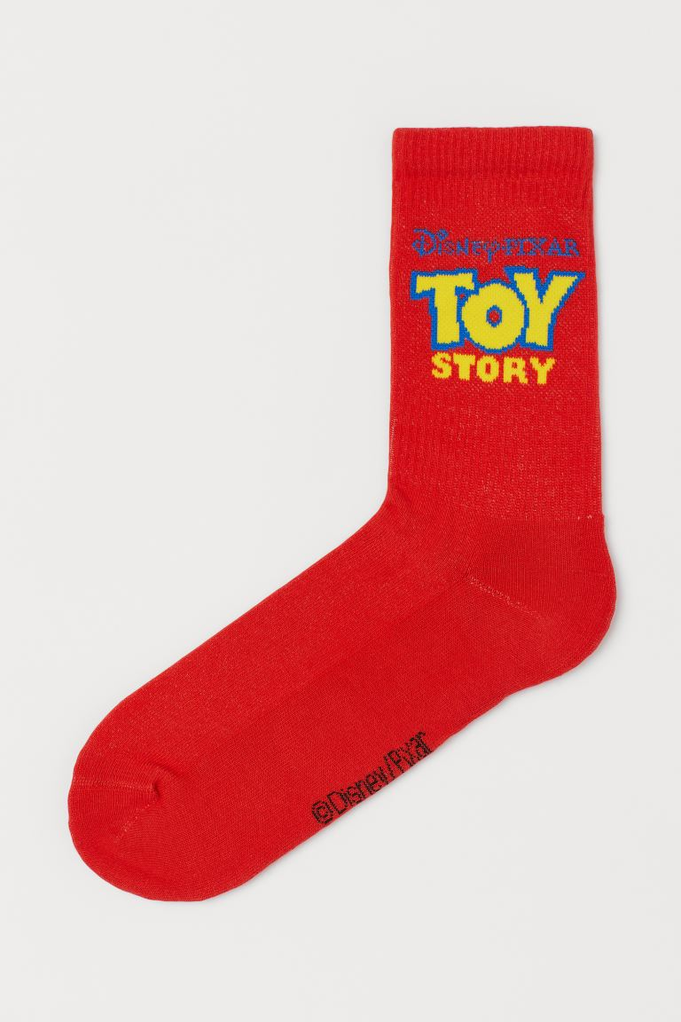 Socks - Red/Toy Story - Men | H&M IN