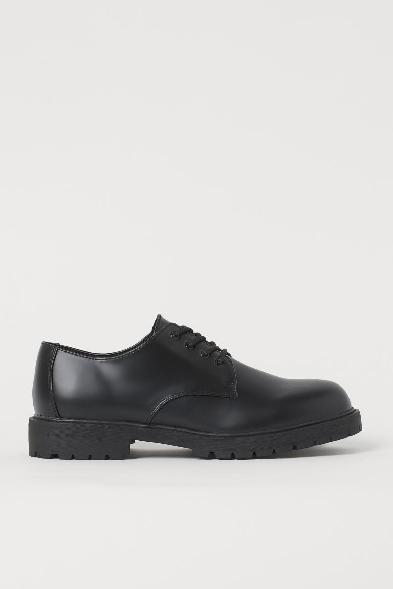 Derby Shoes - Black - Men | H&M US