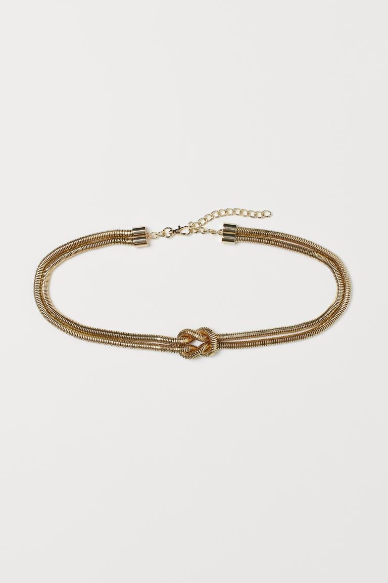 Waist Belt - Gold-colored - Ladies | H&M US