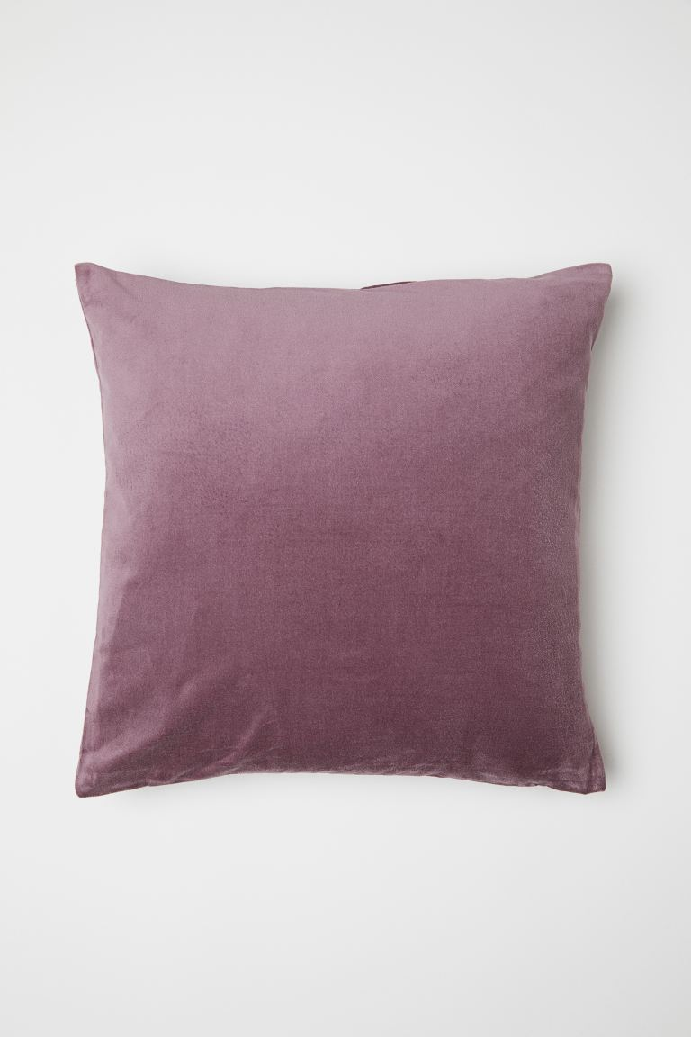 Velvet cushion cover - Heather - Home All | H&M GB