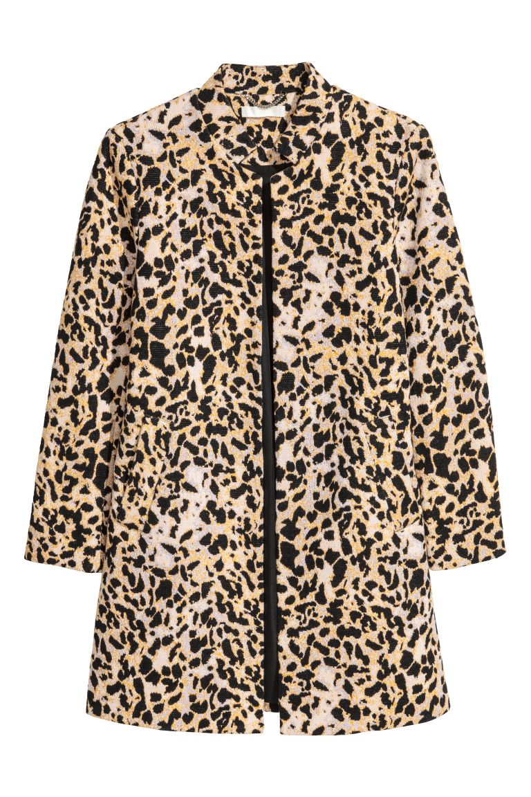 Short coat - Leopard print - Ladies | H&M GB