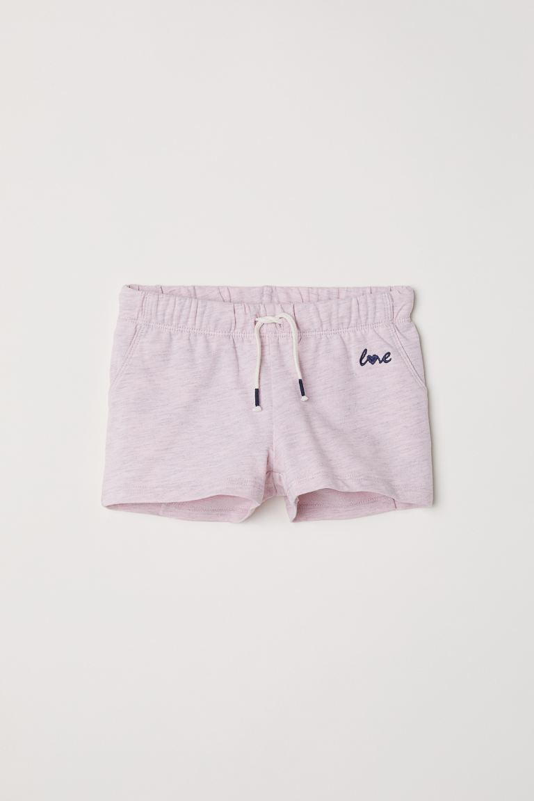 Jersey shorts - Pink - Kids | H&M GB