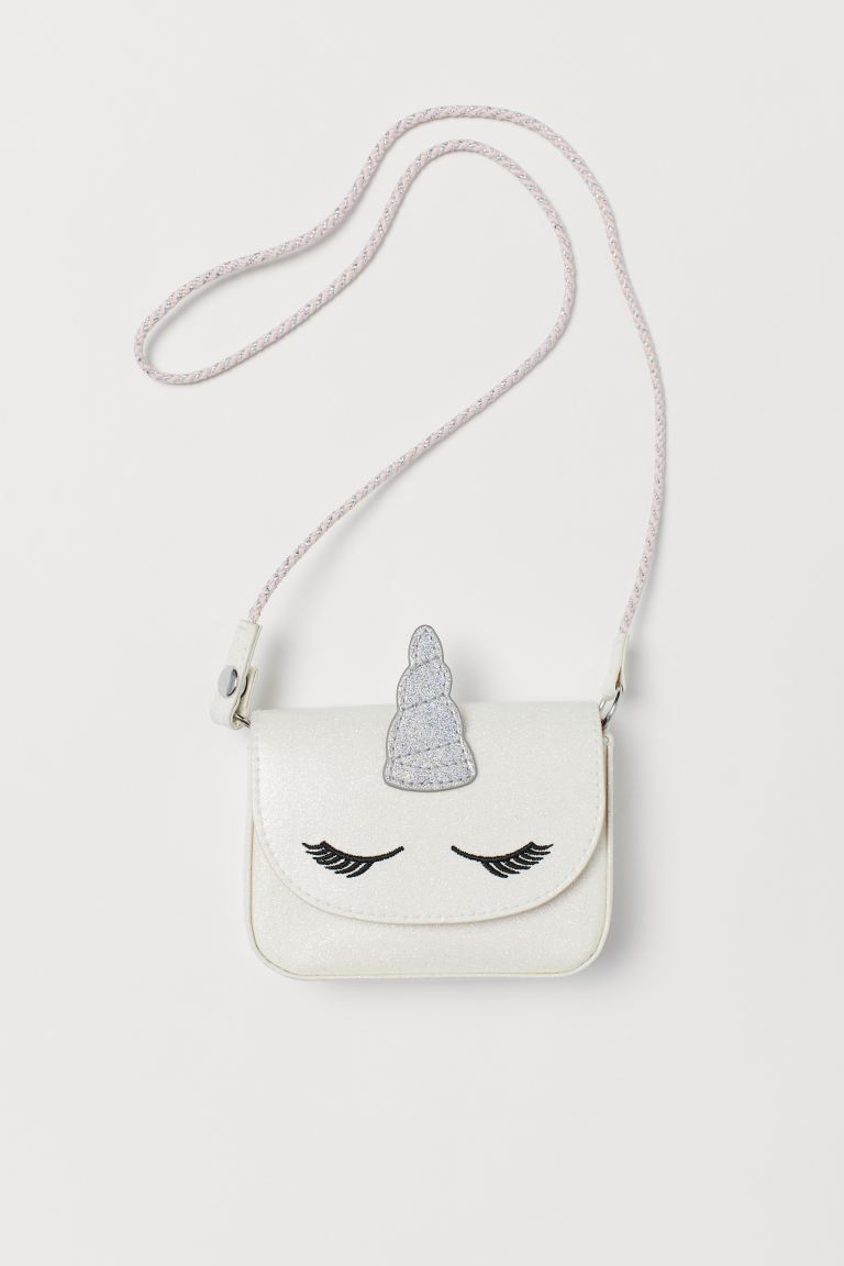 Small Shoulder Bag - Natural white/unicorn - Kids | H&M US