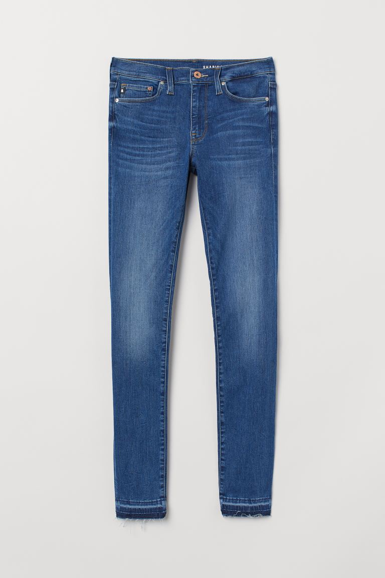 Shaping Skinny Regular Jeans - Denimblå - DAM | H&M SE