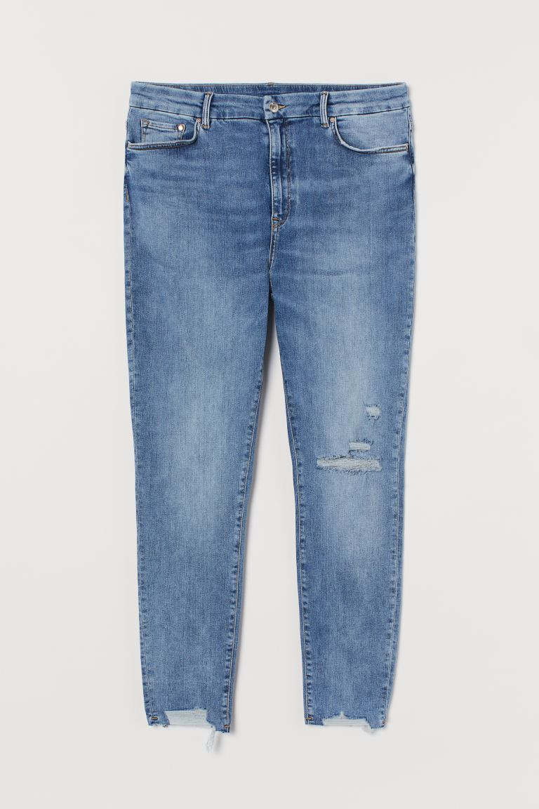 Embrace High Ankle Jeans - Niebieski denim - ONA | H&M PL
