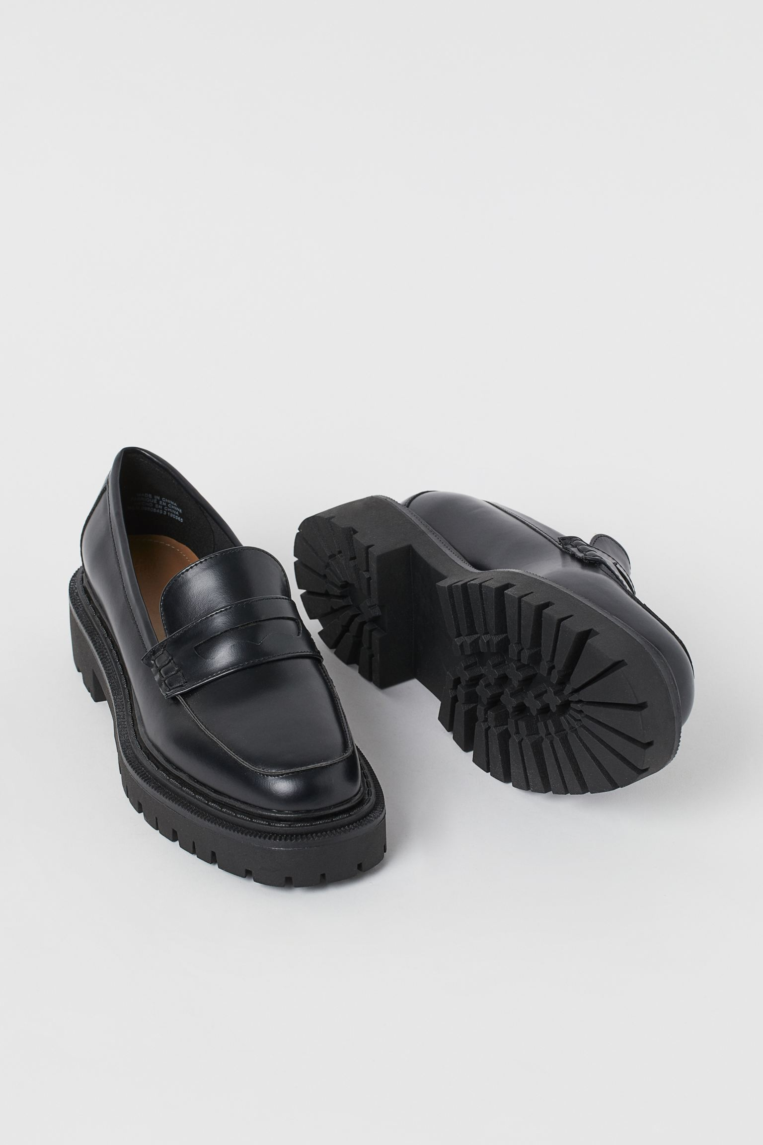 Chunky-soled loafers h&m