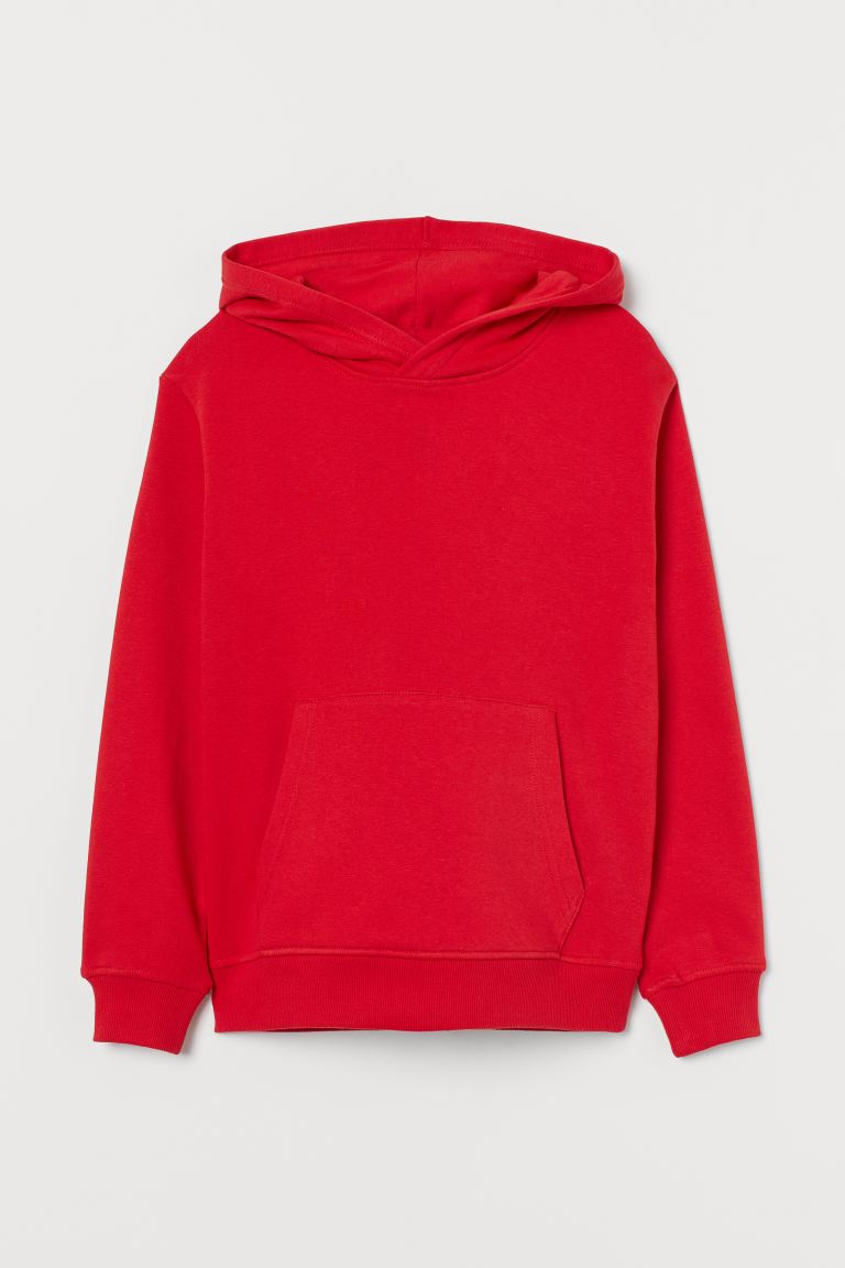 Hooded top - Red - Kids | H&M