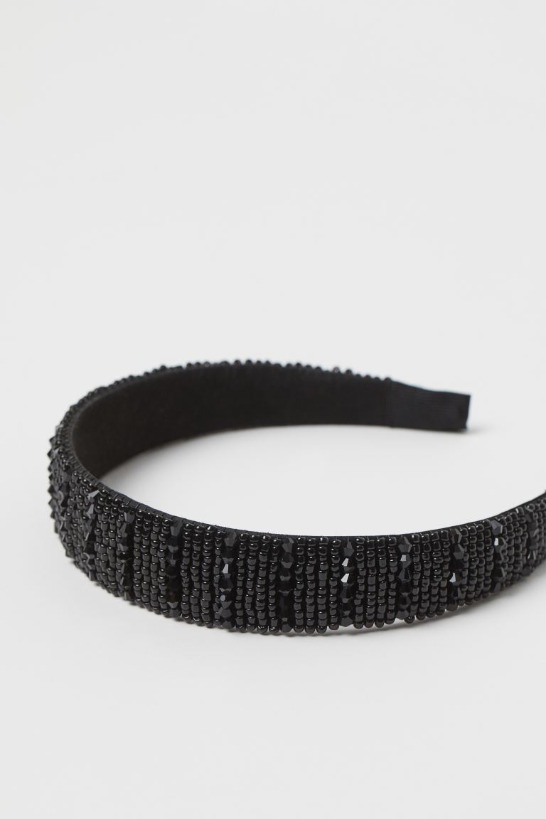 Beaded Alice Band