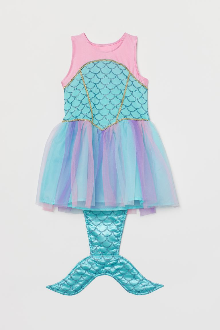 Mermaid dress - Turquoise/Pink - Kids | H&M